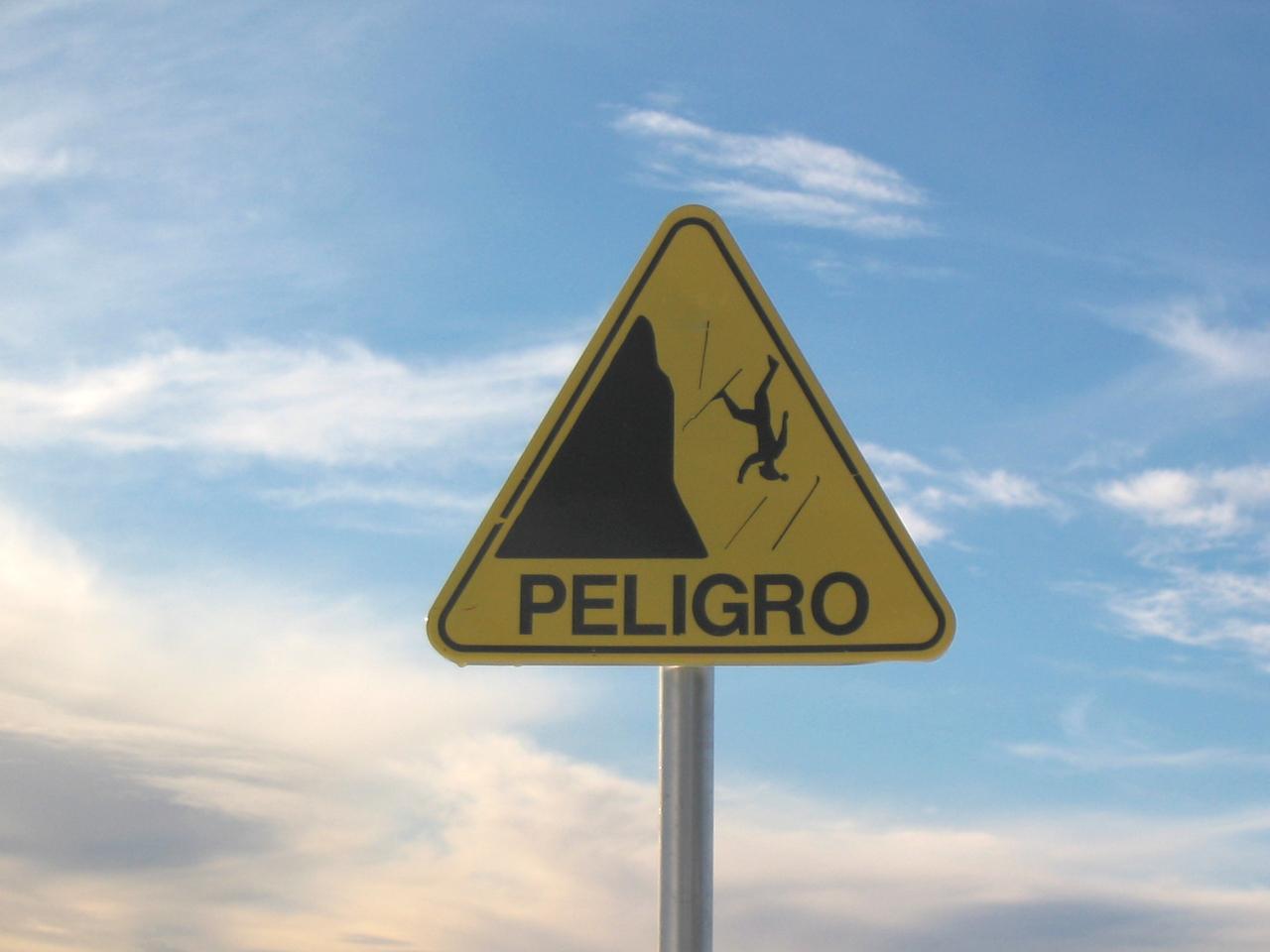 Peligro. Foto de Mariano Franco