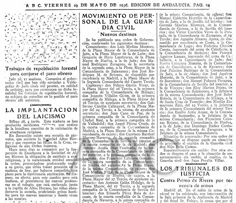 ABC, 29 de mayo de 1936