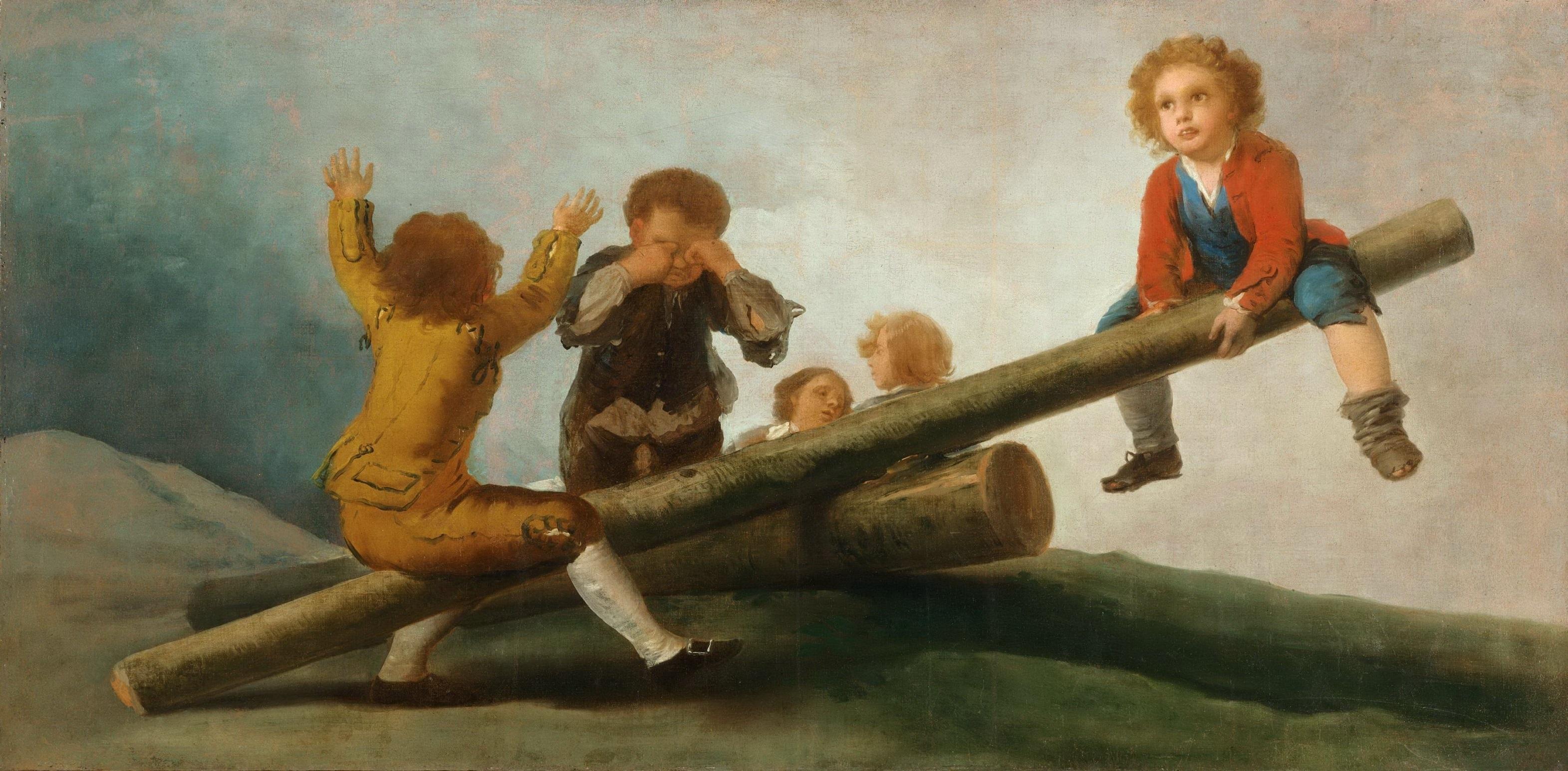 El Balancín, de Goya, en el Museo de Arte de Filadelfia.