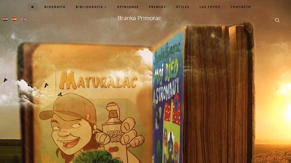 Página web de Branka Primorac