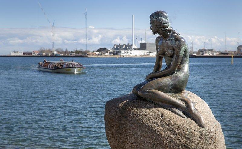 La Sirenita de Copenhague. Fotografía: News Oresund (CC)