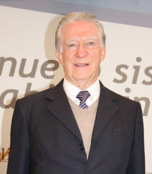 José Guillermo Velasco Arzac, jefe del Yunque mexicano.