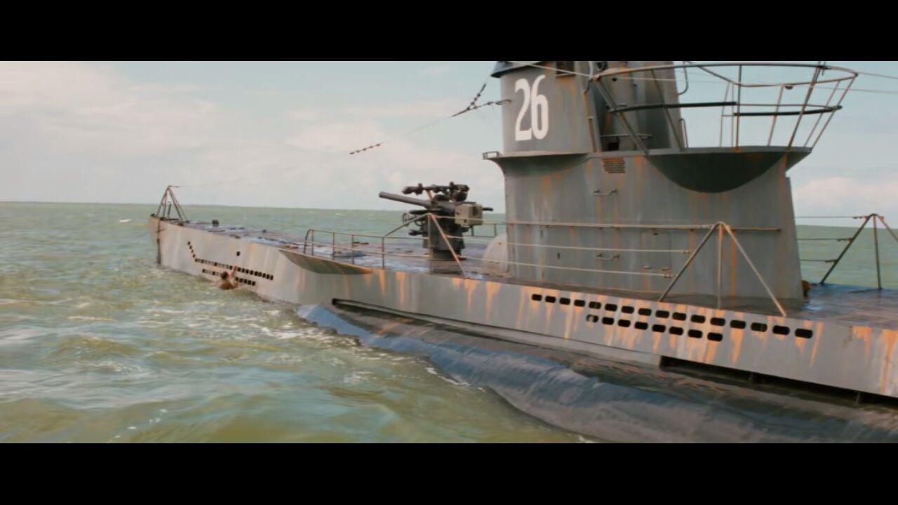 Amphibious Pelicula wurrfler, el falso submarino alemán (u 26) de indiana jones