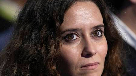Imagen de Isabel Díaz Ayuso publicada el 22 de marzo de 2020.